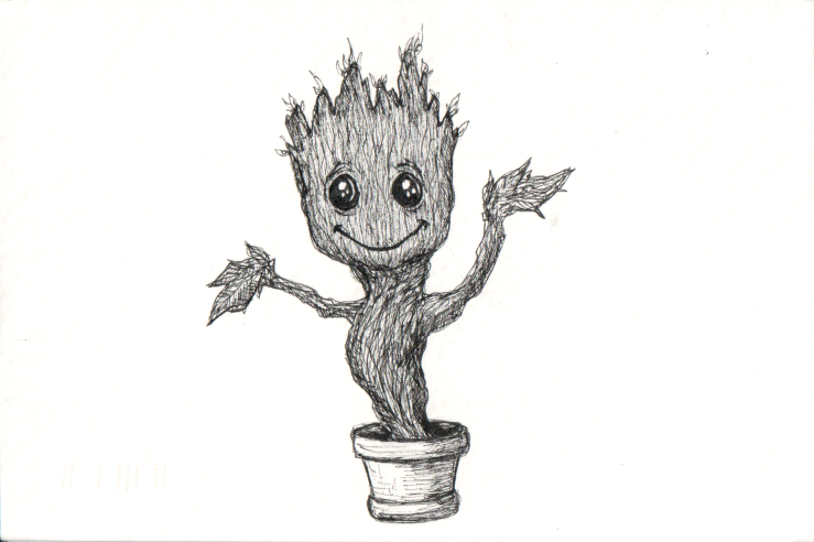 Groot of Guardians of the Galaxy